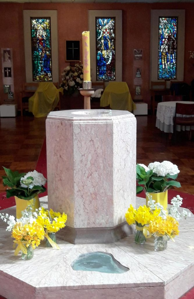 Waiapu Cathedral Font 1st day of Spring