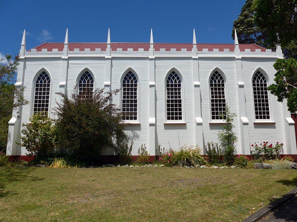 Waiapu Cathedral Anglican Ormond Chapel windows