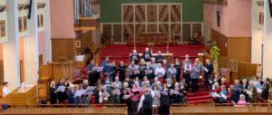 Sing In choir 2020 performing